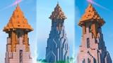 Красивая БАШНЯ в Майнкрафт - Средневековая сторожевая башня Minecraft