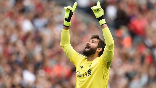 """Alisson: """"Roma""""da o'ynaganimda """"Barselona"""" to'sig'idan o'tgandik"""" - liverpul.uz"""