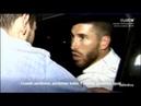 Aficionados insultan y agreden a los jugadores del Real Madrid despues del Clasico