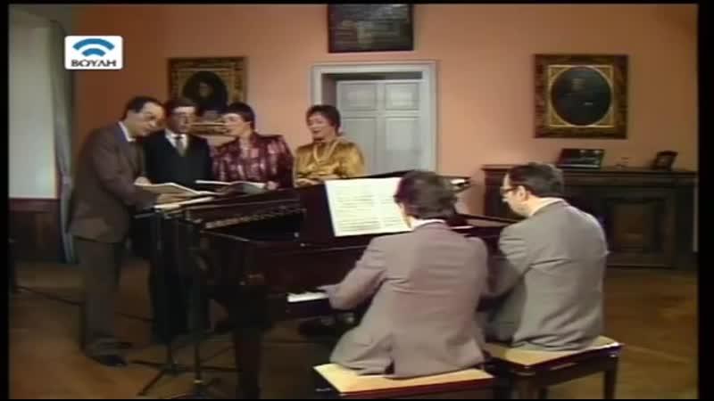 Brahms - Liebeslieder-Walzer, op.52 Mathis, Fassbaender, Schreier, McDaniel; Engel, Medjimorec, 1983