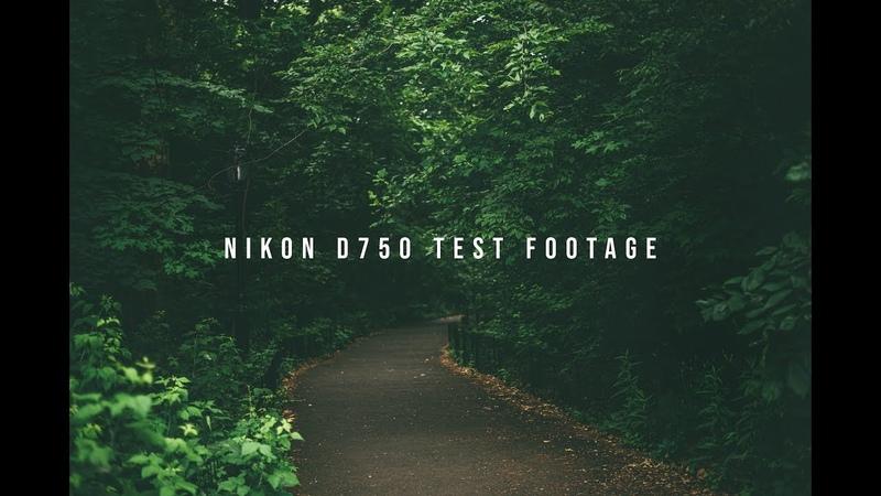 Nikon D750 - DJI RONIN S - Test Footage