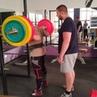 """Pogodin Yegor Russia on Instagram: """"Впервые в жизни выполняю такой объем за тренировку) squat 230kgх8, 240kgх8, 250kgх7 Под руководством @coach"""