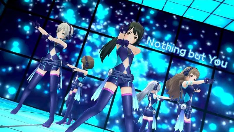 「デレステ」Nothing but You (Game ver.) 前川みく、アナスタシア、中野有香、神谷奈緒、2