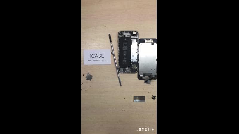 Замена микросхемы контроллера на iPhone 6 | iCase Рязань