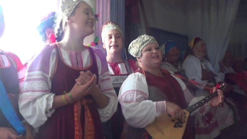 Рудненский каравай. Кудесы. Фольклорный театр из Новгорода. 22.06.2019.