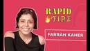 EXCLUSIVE : FARRAH KADER RAPID FIRE l FARRAH KADER NEW VIDEO l FARRAH KADER VIDEO l FARRAH KADER