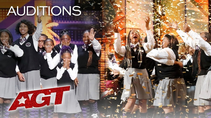 Golden Buzzer! Detroit Youth Choir Cant Hold Back The Tears - Americas Got Talent 2019