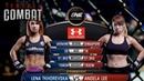 Total Combat Lena Tkhorevska vs Angela Lee Full Fight Replay