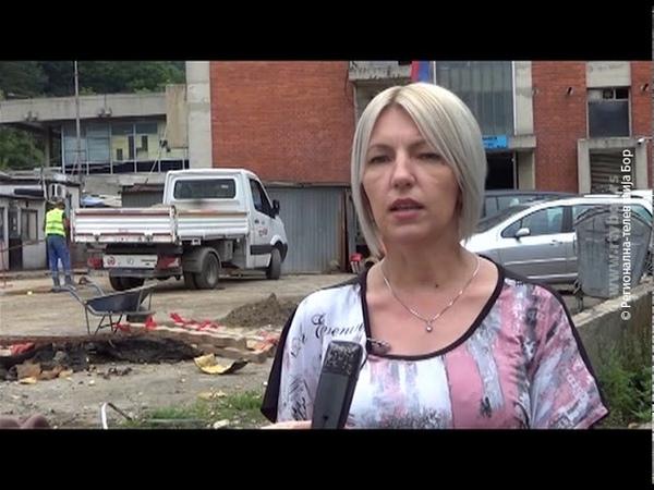 Završena zamena dela toplovoda u Majdanpeku 2019 RTV Bor