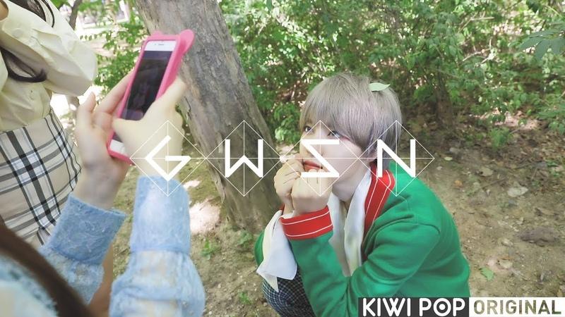 0to1CAM 공원소녀 자켓촬영 현장에 미야몬이 나타났다