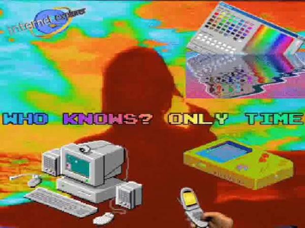 Enya Only Time Vaporwave