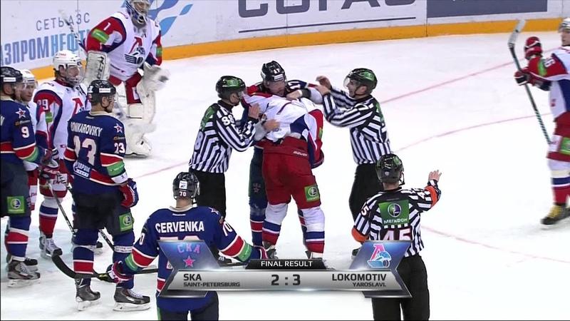 Бой КХЛ: Ковальчук VS Холёс / KHL Fight: Kovalchuk VS Holos