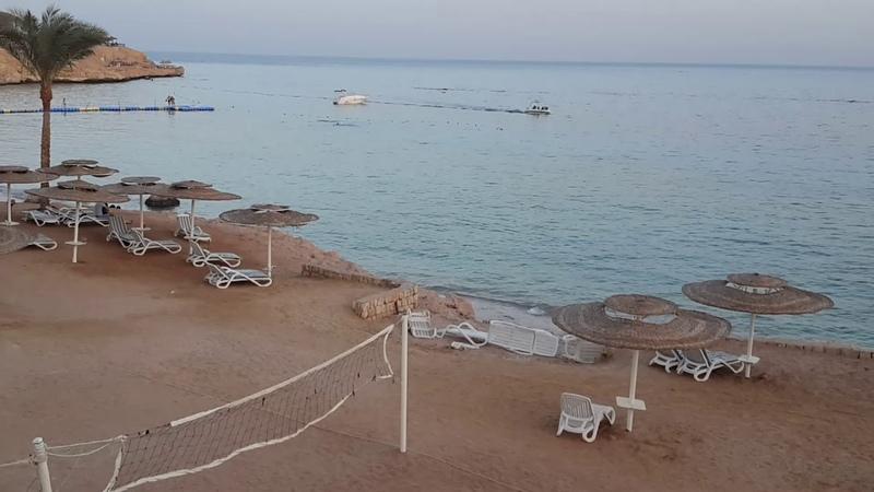Египет Шарм Эль Шейх заброшенный отель возле Отеля Continental Plaza Beach Resort Sharm El Sheikh