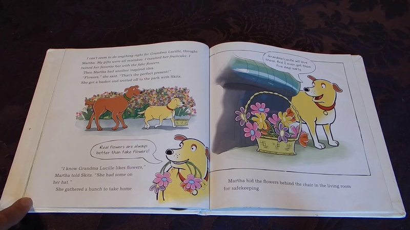 Martha Says It With Flowers By Susan Meddaugh Read Aloud For Kids