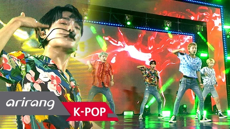 Simply K Pop A C E 에이스 Callin' Ep 321 072018