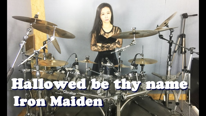 Iron Maiden - Hallowed be thy name drum cover by Ami Kim (26)