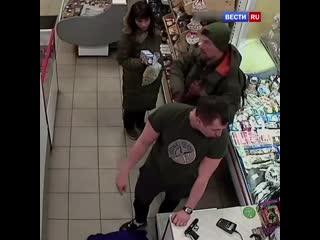 Пьяный налёт на магазин
