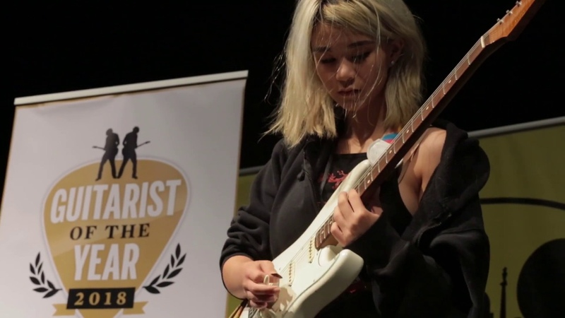 Young Guitarist of the Year 2018 finalist Abigail Zachko
