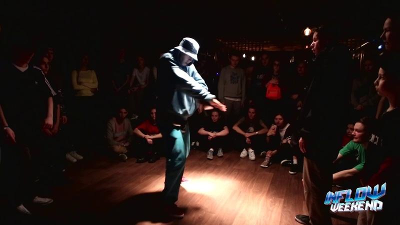 INFLOW WEEKEND Hip-hop pro 1/8 Lil'Ti vs A-jay (win)