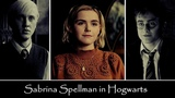 Sabrina Spellman in Hogwarts (Harry Sabrina Draco)