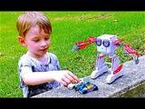 Говорящий Робот на Прогулке Greville Street Park , Sydney