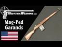 Winchester Experimental Mag-Fed Garands