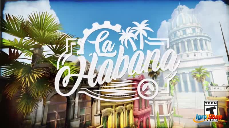 OVERWATCH Havana New Map Trailer (2019)