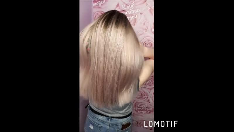пепельно-жемчужный блонд