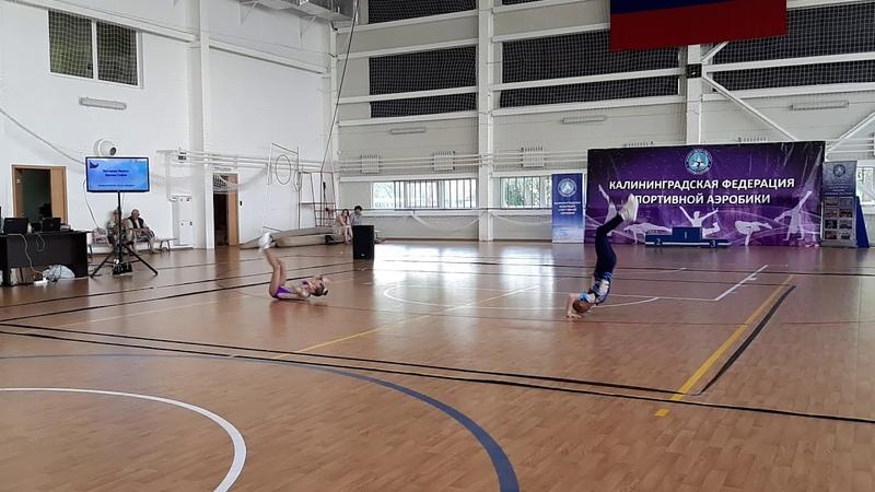 23 пара Костылев Орлова ЯНТАРНЫЕ ЛАСТОЧКИ 08 06 2019