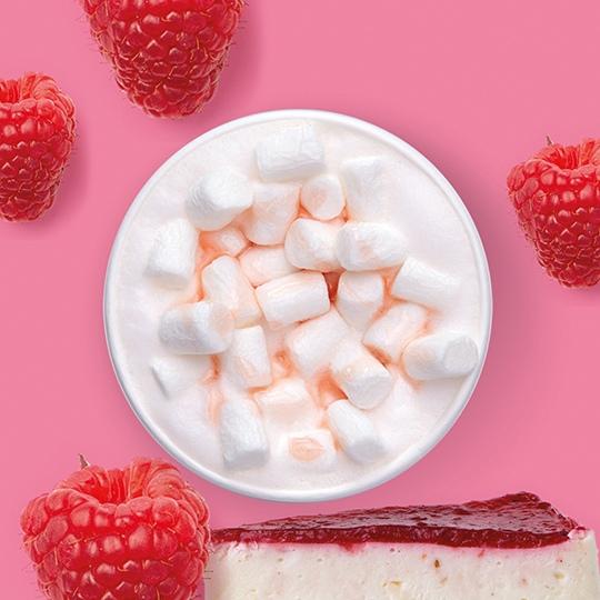 Радуйся вкусу: Латте малиновый чизкейк