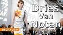 Dries Van Noten Модная Весна Лето 2019 в Париже Одежда обувь сумки и аксессуары