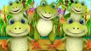Пять маленьких Пестрая Лягушки Five Little Speckled Frogs Little Treehouse Russia Nursery Kids