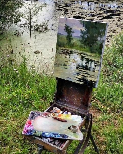 Я ХУДОЖНИК, Я ТАК ВИЖУ: РОССИЙСКИЙ ЖИВОПИСЕЦ ПОКАЗЫВАЕТ КАРТИНЫ И ВИДЫ, С КОТОРЫХ ОНИ НАПИСАНЫ Картины, которые мы видим в галереях, это результат творческого процесса. Каждый художник рисует
