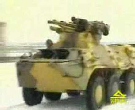 БТР 3У Armoured personnel carrier