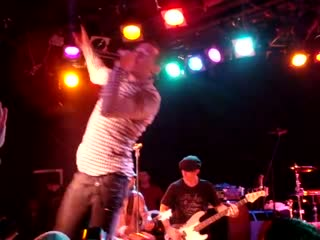 """Chester bennington """"i alone"""" rock of the 90s camp freddy 12-18-09"""