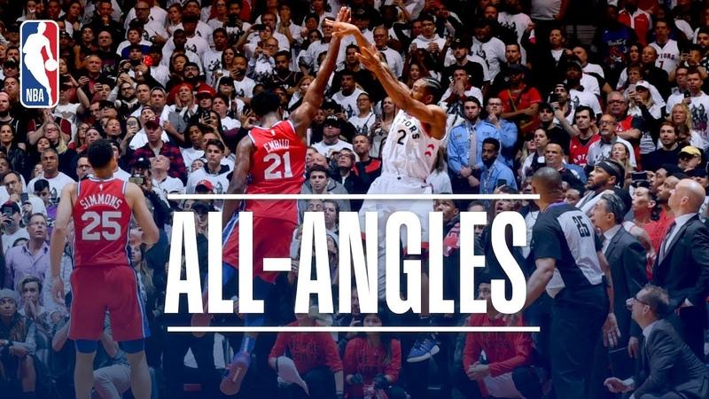 ALL-ANGLES! Kawhi Leonard's AMAZING Game-Winner! NBANews NBA NBAPlayoffs Raptors KawhiLeonard