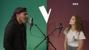 Maëlle Pistoia ft Gulaan Johnny Hallyday Je te promets Vox The Voice France 7 Maelle Pistoia