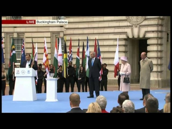 HM The Queen Launches Commonwealth Games 2014 Baton Relay - October 2013