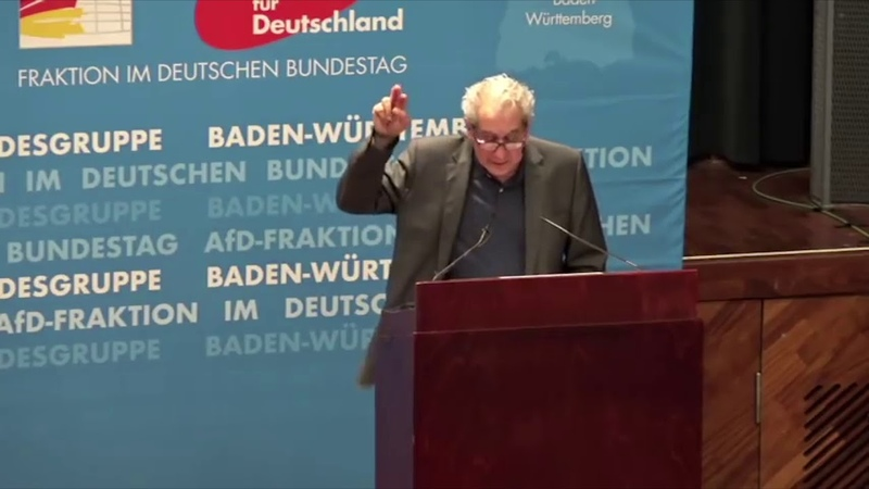 Imad Karim - Vortrag in der Landesgruppe Baden Württemberg der AfD Bundestagsfraktion 22.10.2018