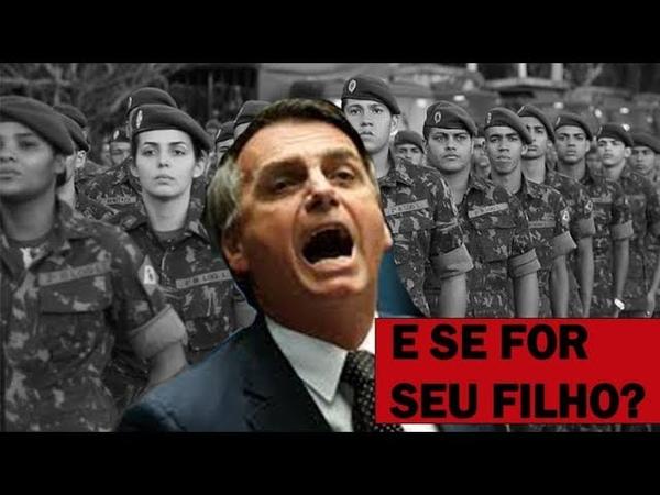 E se Bolsonaro nos colocar em guerra