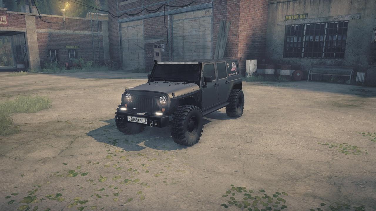 Jeep Wrangler Rubicon «OffroadSPB»