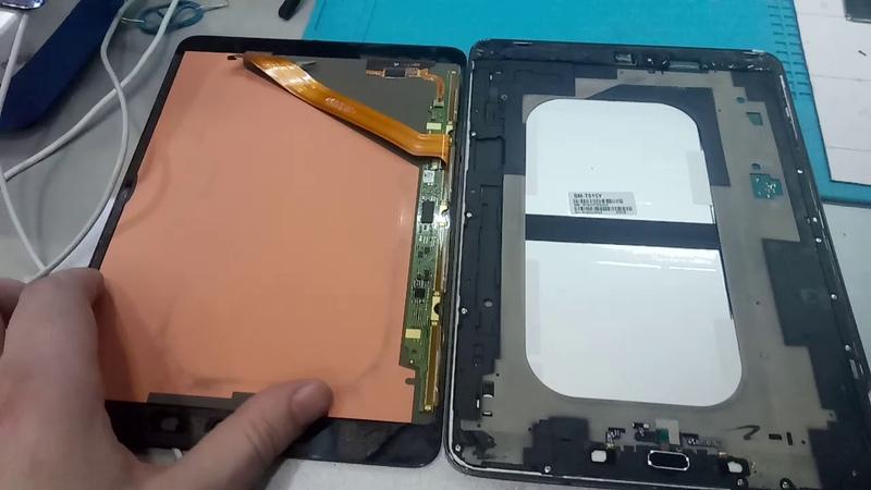 Как разобрать Samsung Galaxy Tab S2? Разборка. Disassembly