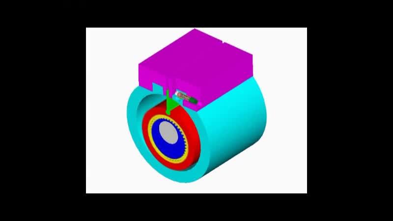 Ротационный компрессор с катящимся ротором (РККР)