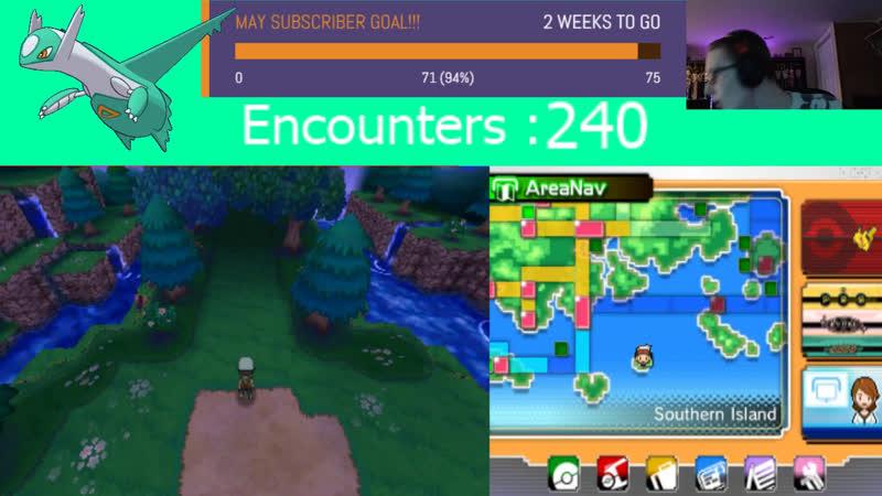 SHINY LATIOS HUNTING STREAM 5 Pokemon Omega Ruby Lets Play Ep 13