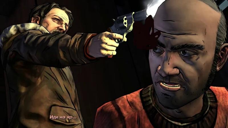 The Walking Dead Season 2 - thorny path - (Эпизод 3 - тернистый путь ) в плену у психа 5