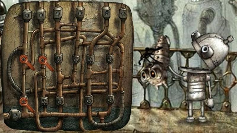 Machinarium   Машинариум ➤ Прохождение 6 ➤ Трубы и Кот