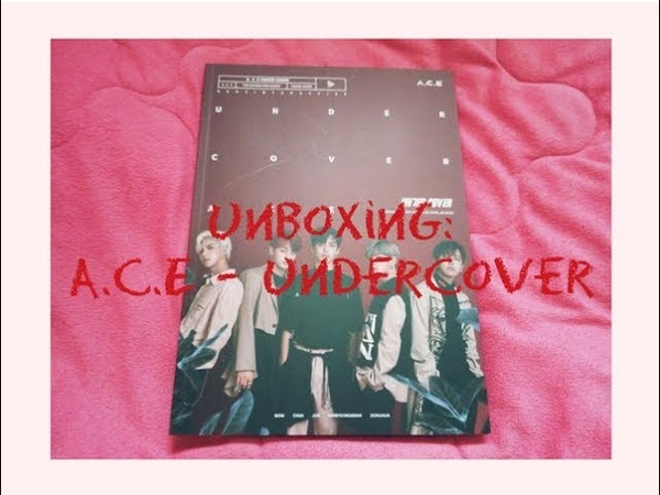 Unboxing A.C.E 에이스 - Undercover 2nd Mini Album (ITA)