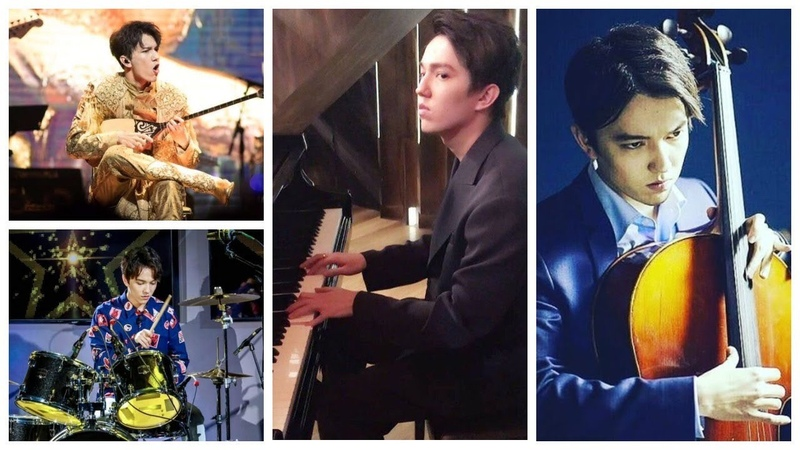 The 6 oktave man plays on 7 instruments | Dimash Kudaibergen The Worlds best