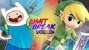 Finn VS Toon Link (Adventure Time VS Legend of Zelda) | Limit Break: Showdown