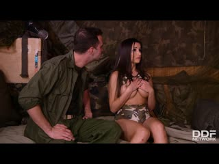 Alyssia kent (sexy soldier domination in the bunker) [2019, lingerie,big tits/cock,deep throat,hardcore,all sex,facial, 1080p]